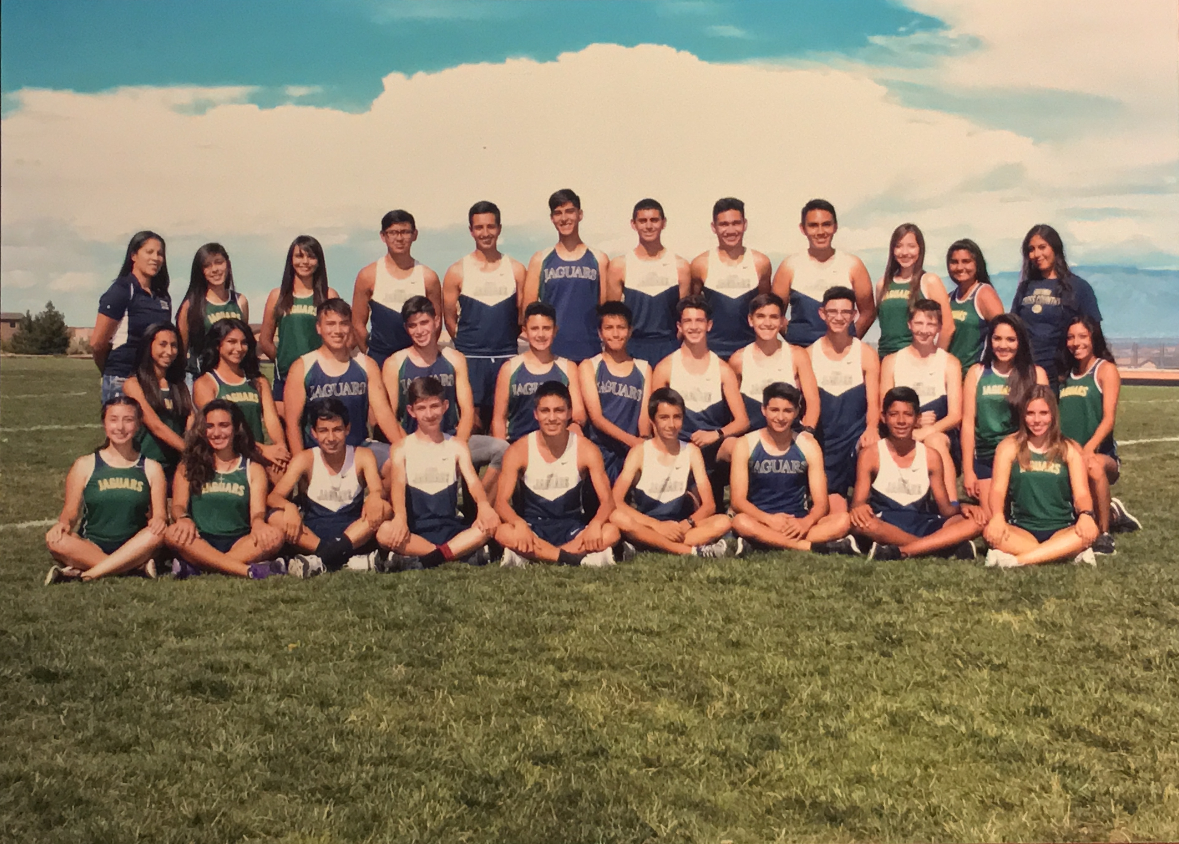2016 Cross Country Team