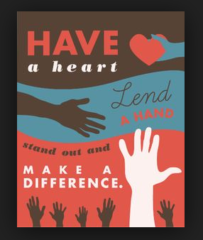 Have a heart, lend a hand