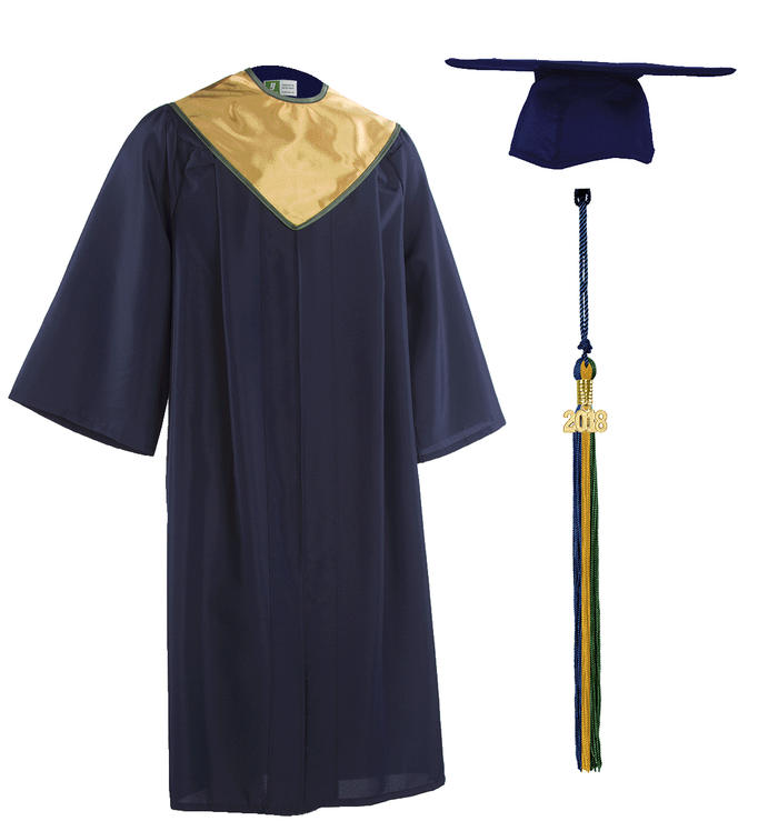 AHA s 2018 Cap and Gown with tassel